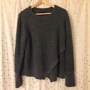 Banana Republic Split Front Wool Sweater